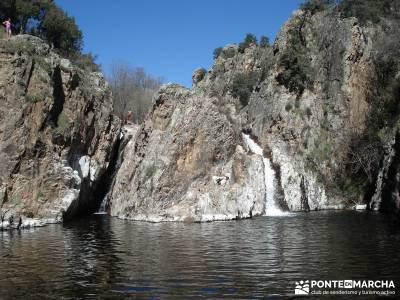 Azud del Mesto - Cascada del Hervidero;rutas cerca de madrid excursiones por madrid bosques encantad